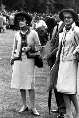Older Coco Chanel pictures - Coco Chanel out and about.jpg
