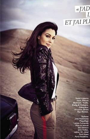 Monica Bellucci for Grazia France April 2013