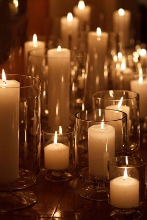 Candles via Style Me Pretty - Live lusciously with LUSCIOUS.jpg