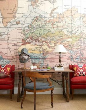 Map on wall - Live lusciously with LUSCIOUS.jpg
