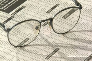 Newspaper and glasses - www.myLusciousLife.com.jpg