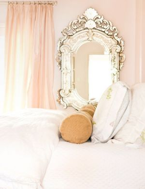 Venetian Mirror by bed via pinterest.jpg