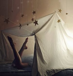 bed tent with stars - Living lusciously.jpg