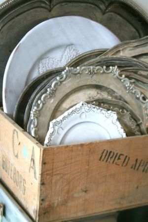box-of-dishes-trays-antiques - Live lusciously with LUSCIOUS.jpg