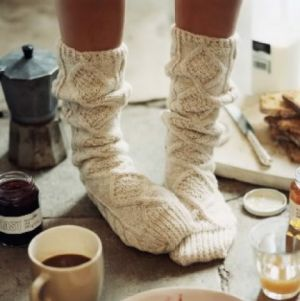 comfy socks in winter - Living lusciously.jpg