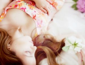 lounging in a floral frock - Live lusciously with LUSCIOUS.jpg