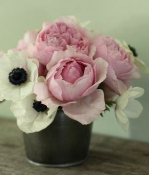 soft pink and white peonies in vase - Living lusciously.jpg