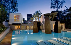 In the late 1980s architect Frank Gehry designed this unusual home for Marna Schnabel Los Angeles.jpg