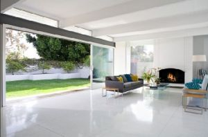 mid century modern home beverly hills richard dorman cococozy terrazzo floors living room white.JPG
