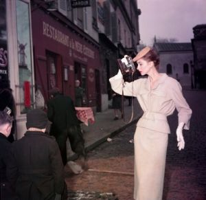 vintage model with camera in the street.jpg