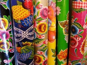Sophisticated colour - www.myLusciousLife.com - Oilcloth by the Yard from Elinterior.jpg