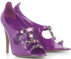 Sophisticated colour - www.myLusciousLife.com - Sergio Rossi - purple sandals.jpg