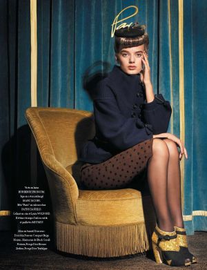 ladylike behaviour - Bregje Heinen by Matthis Vriens-McGrath for LOfficiel Paris.jpg
