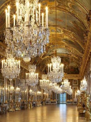 ladylike glamour - Hall of Mirrors Versailles.jpg