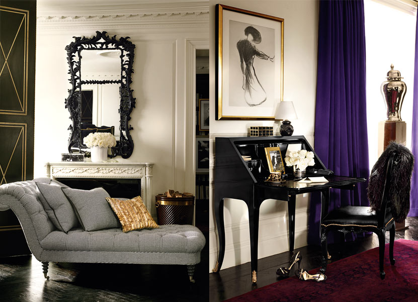 glamorous home: ralph lauren home ? apartment no. one collection - Art Deco Mobel Ralph Lauren Home