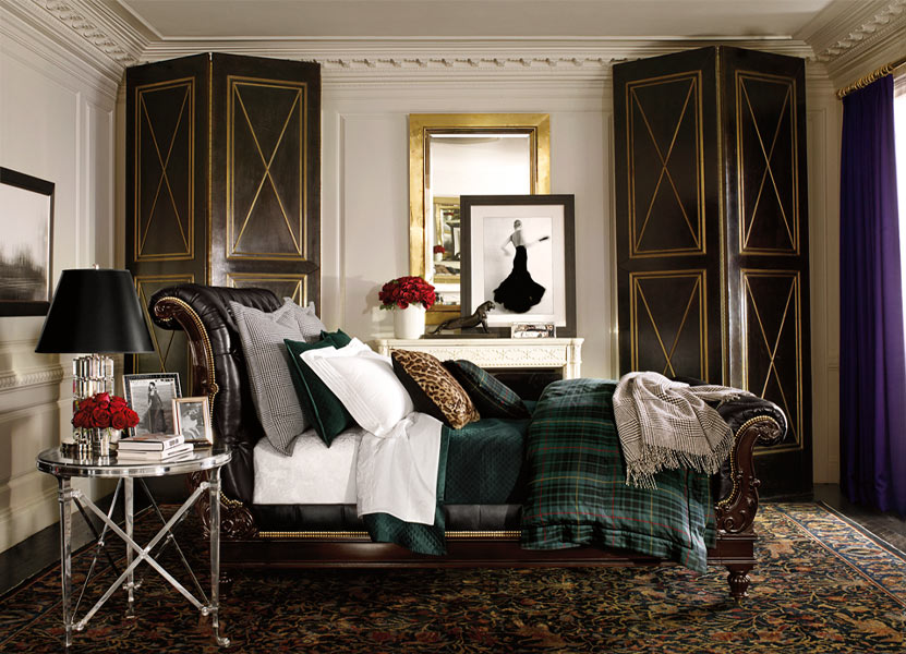 glamorous home: ralph lauren home ? apartment no. one collection ...