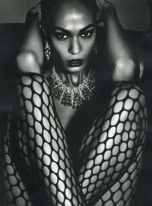 Joan Smalls by Mario Sorrenti for Vogue Paris June July 2013