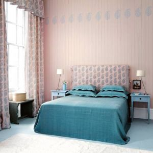 Tiffany blue - mylusciouslife.com - pretty bedroom Photograph by Tom Leighton for housetohome.jpg