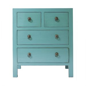mylusciouslife.com - Four-door chest of drawers from Oliver-Bonas-Cypress-Wood.jpg