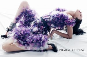 Candice Swanepoel for Prabal Gurung Spring 2012 Campaign by Daniel Jackson.jpg