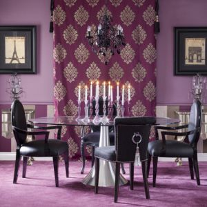 Purple dining room - www.myLusciousLife.com.jpg