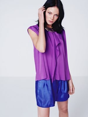 Purple mauve lilac photos - Kinga Rajzak for HM Spring 2012 Lookbook.jpg