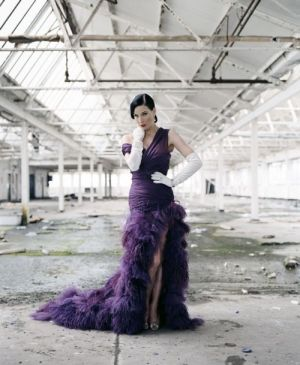 Purple mauve lilac photos - dita purple frockage.jpg