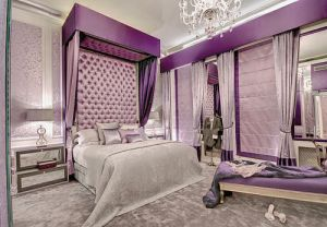 Purple mauve lilac photos - glamorous purple bedroom.jpg