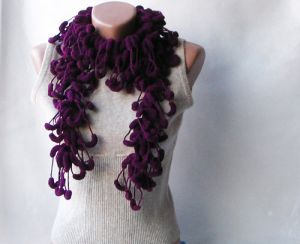 plum coloured scarf - www.myLusciousLife.com.jpg