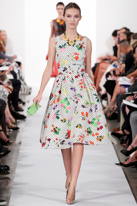 Runway oscar de la renta spring 2014 rtw collection for Oscar de la renta childhood