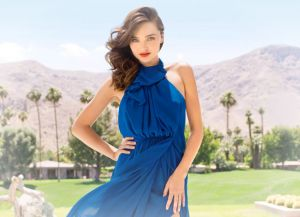 Miranda Kerr in Carla Zampatti Blueberry Georgette Tear Drop Back Diaphanous Gown.jpg