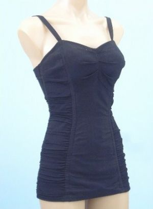 50s style Black Catalina Bombshell Pinup Swimsuit from bluevelvetvintage.com.jpg
