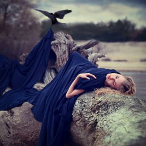 True blue colour photo gallery - Awake.. by ~Khomenko.jpg