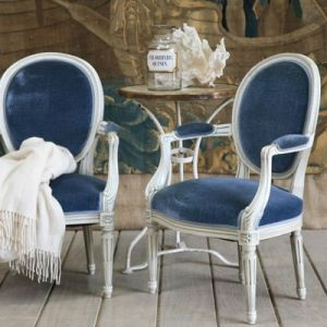 True blue colour photo gallery - Layla Grayce blue armchairs.jpg
