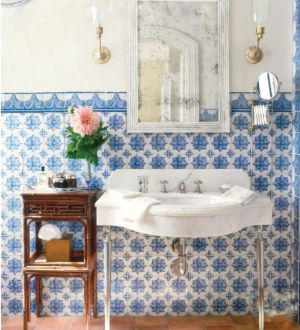 Veranda July 2011 blue tiled bathroom.jpg