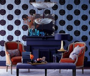 houseandhome.com Wallpapered Rooms - blue room.jpg