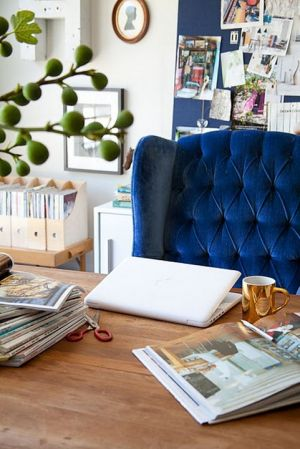 True blue colour photo gallery - luscious blue chair.jpg