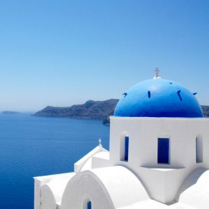 True blue colour photo gallery - santorini-cobalt-blue.jpg