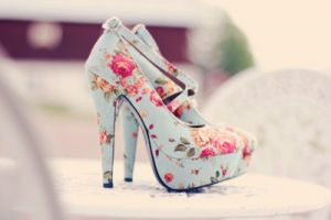 vintage style pale blue and floral platform shoes.jpg