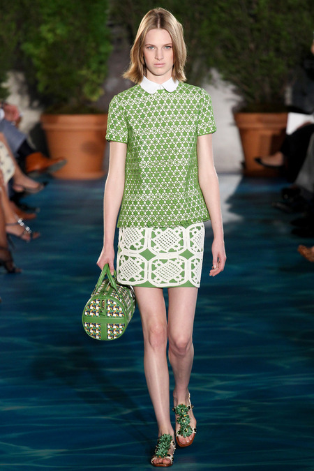 9cfa9fc481d Runway  Tory Burch Spring 2014 RTW Collection