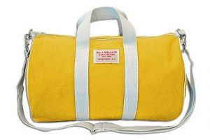 Cheery yellow - Wm J Mills & Co Duffle bag in Yellow Duck.jpg