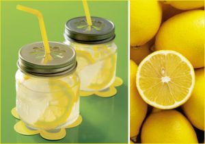 Cheery yellow - Yellow glasses with lemonade.jpg