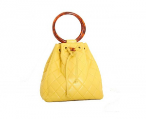 Cheery yellow - chanel jaune - yellow bag.png
