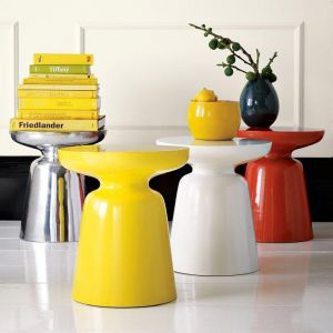 Awesome ... Decorating With Yellow   Martini Side Table From West Elm ...