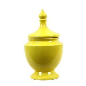 Decorating with yellow - modern chic home_yellow urn decor accessories.jpg
