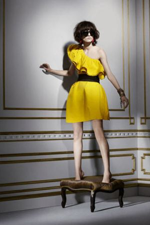 Light and bright yellow - lanvin yellow dress.jpg