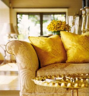 Martha Stewart - Skylands on Mount Desert Island in Seal Harbor Maine - yellow decor.jpg