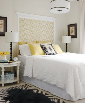 Yellow decor photos - Style at Home Yellow in Bedroom by-stacey-brandford.jpg