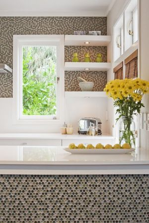 Yellow decor pictures - yellow grey-eclectic-kitchen Bright Bold Beautiful.jpg