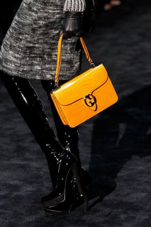 gucci accessories fall 2011 yellow bag.jpg